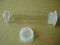 Clear Plastic Tubes With Caps