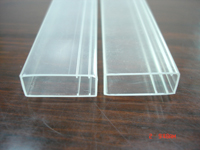 Clear Square Tubes